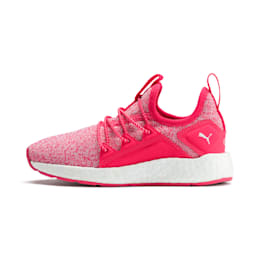 NRGY Neko Knit Shoes PS, Nrgy Rose-Puma White, small