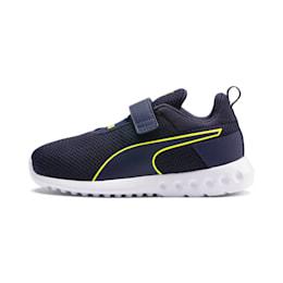 Carson 2 Concave Kids Sneaker, Puma Black-Peacoat, small
