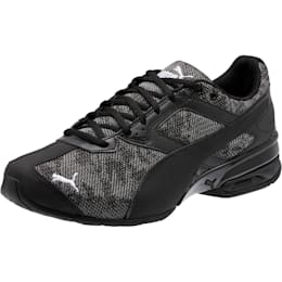 Tazon 6 Camo Mesh Sneakers, Puma Black-Puma White, small