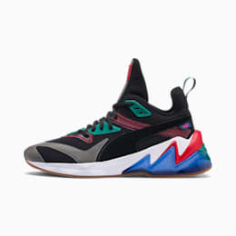LQDCELL Origin Men's Shoes, Puma Black-Cadmium Green, small