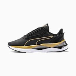 Zapatillas de running para mujer Shatter XT Matte LQDCELL, Puma Black-Puma Team Gold, small