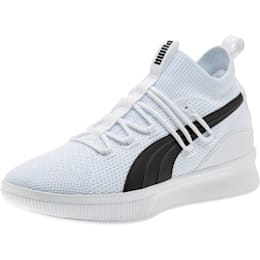 Clyde Court Basketball Shoes JR, Puma White, small