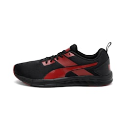 Meteor NU IDP, Puma Black-High Risk Red, small-IND