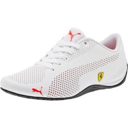 Scuderia Ferrari Drift Cat 5 Ultra Men's Shoes, Puma White-Rosso Corsa-Black, small