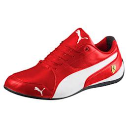 Ferrari Drift Cat 7 Shoes, Rosso Corsa-Puma White-Black, small-IND