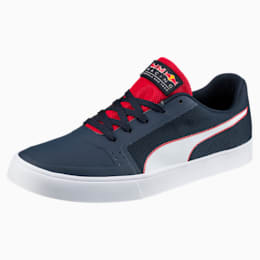 Red Bull Racing Wings Vulc Trainers, Ttl Eclipse-Wihte-Chns Red, small