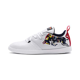 Red Bull Racing Cups Lo Bulls Shoes, White-White-NIGHT SKY, small-IND