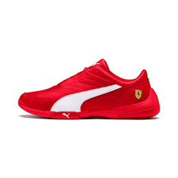 Ferrari Kart Cat III Shoes, Rosso Corsa-White, small-IND