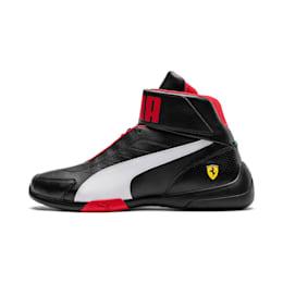 Scuderia Ferrari Kart Cat Mid III Hi Top Shoes, Puma Black-Puma White, small