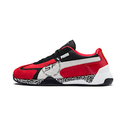 Ferrari Speed HYBRID Men's Trainers, Rosso Corsa-White-Black, small