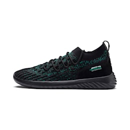 Mercedes AMG Petronas SpeedCat FUSEFIT Trainers, Puma Black-Spectra Green-Blk, small-IND