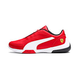 Ferrari Kart Cat III Youth Shoes, Rosso Corsa-Puma White, small-IND