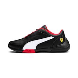 Ferrari Kart Cat III Youth Shoes, Puma Black-Puma White, small-IND