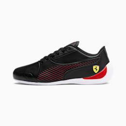 Ferrari Drift Cat 7S Ultra Youth Shoes, Puma Black-Rosso Corsa, small-IND