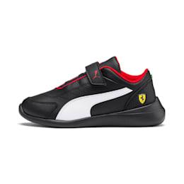 Ferrari Kart Cat III Kids' Shoes, Puma Black-Puma White, small-IND