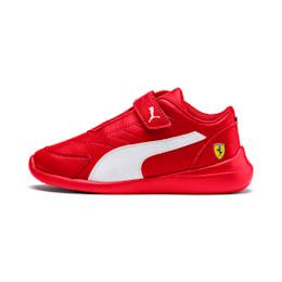 Ferrari Kart Cat III Kids Sneaker, Rosso Corsa-Wht-Rosso Corsa, small