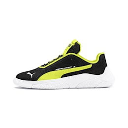 Replicat-X Circuit Motorsport Shoes, Black-Fizzy Yellow-White, small