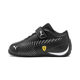 Scuderia Ferrari Drift Cat 5 Ultra II Toddler Shoes, Puma Black-Puma White, small