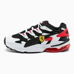 Scuderia Ferrari CELL Alien Men's Sneakers, P White-P Black-Rosso Corsa, small