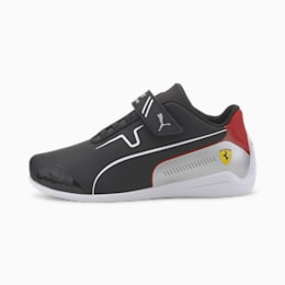 Scuderia Ferrari Drift Cat Kids' Trainers, Puma Black-Puma White, small