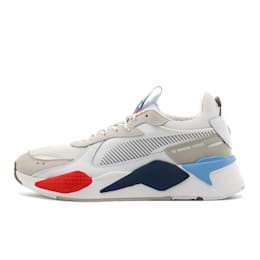 RS-X BMW MMS Sneakers, White-Gray Violet-Hgh Rsk Rd, small
