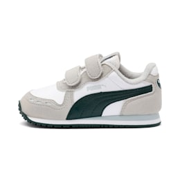 Cabana Racer SL Toddler Shoes, Puma White-Gray Violet, small