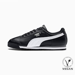 Roma Basic Men's Sneakers, black-white-puma silver, small