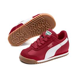 Roma Basic Summer Toddler Shoes, Rhubarb-Puma White, small