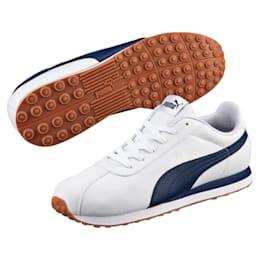 Turin Men's Sneakers, Puma White-Peacoat-1, small