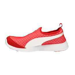 ST Trainer Evo Slip-on, Barbados Cherry-Puma White, small-IND