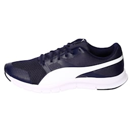 PUMA Flexracer Shoes, peacoat-white, small-IND
