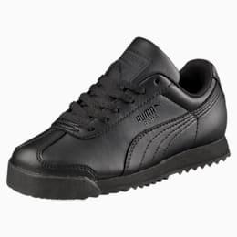 Roma Basic Preschool Kinder Sneaker, Puma Black-Puma Black, small