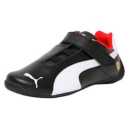 Ferrari Future Cat V PS Kids' Trainers, Puma Black-Puma White-2, small-IND