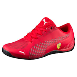 Ferrari Drift Cat 5 Ultra Kids' Shoes, Rosso Corsa-Puma White, small-IND
