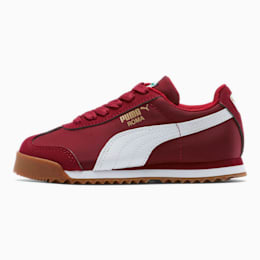 Roma Basic Summer Little Kids' Shoes, Rhubarb-Puma White, small