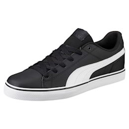 Court Point Vulc v2 Shoes, Puma Black-Puma White, small-IND