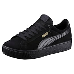 Vikky Platform Women's Shoes, Puma Black-Puma Black, small-IND