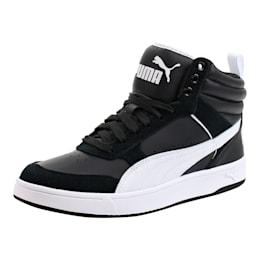 Puma Rebound Street v2 Sneakers, Puma Black-Puma White, small