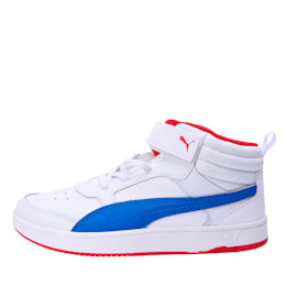 PumaReboundStreet2 L V PS, White-Strng Blue-Rbbn Red, small-IND
