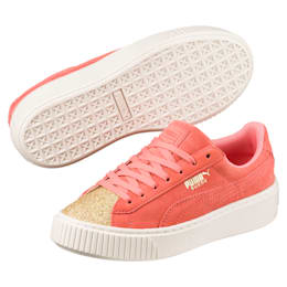 shoes, puma, pink, sneakers, puma suede, suede, girl, girls
