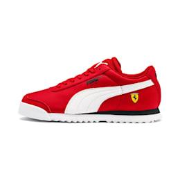 Scuderia Ferrari Roma Sneakers JR, Rosso Corsa-White-Black, small