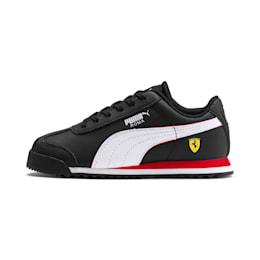 Scuderia Ferrari Roma Little Kids' Shoes, Black-White-Rosso Corsa, small