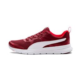 Flex Essential Shoes, Pomegranate-Puma White, small-IND