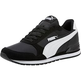 ST Runner v2 NL Sneakers JR, Puma Black-Puma White, small