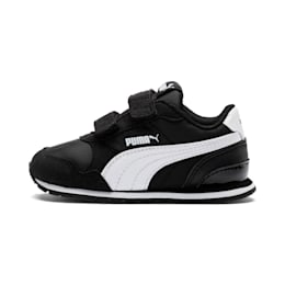 ST Runner v2 Kids' Shoes, Puma Black-Puma White, small-IND