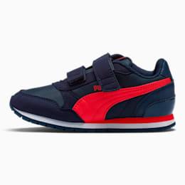 ST Runner v2 Little Kids' Shoes, Peacoat-Ribbon Red, small