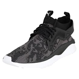 TSUGI Cage evoKNIT WF Shoes, Puma Black-Puma White-, small-IND