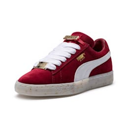 Suede Classic B-BOY Fabulous Women's Trainers, Red Dahlia-Puma White-Melon, small