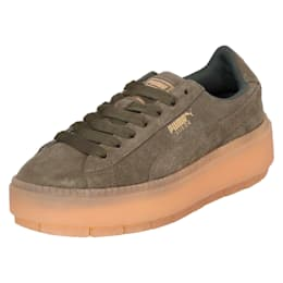 Platform Trace Women's Shoes, Olive Night, small-IND