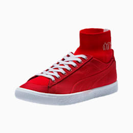 PUMA x MANHATTAN PORTAGE Clyde Sock Sneakers, High Risk Red-High Risk Red, small
